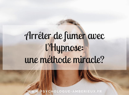 Arrêter de fumer avec l'hypnose: une méthode miracle?