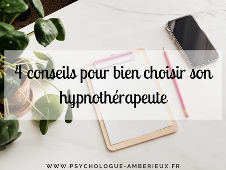 4 conseils pour bien choisir son hypnothérapeute