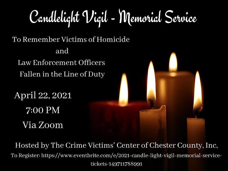 Candlelight Vigil - Memorial Service (1)