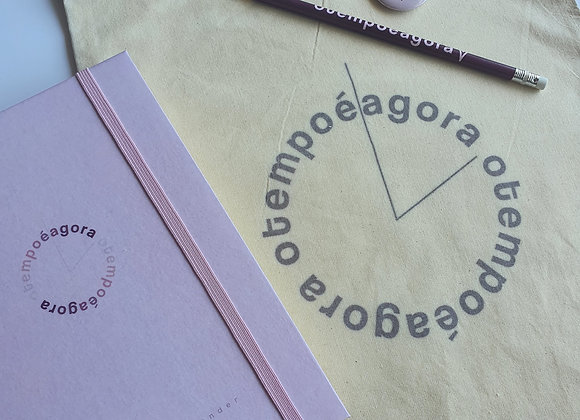 Kit Planner Empreender 2021 - Capa rosa claro