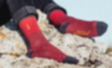 Chaussettes brodées jermaine Toulouse. Chaussettes fabriquées en France.