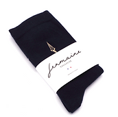 chaussettes bleu marine jermaine toulouse. Chaussettes made in France.