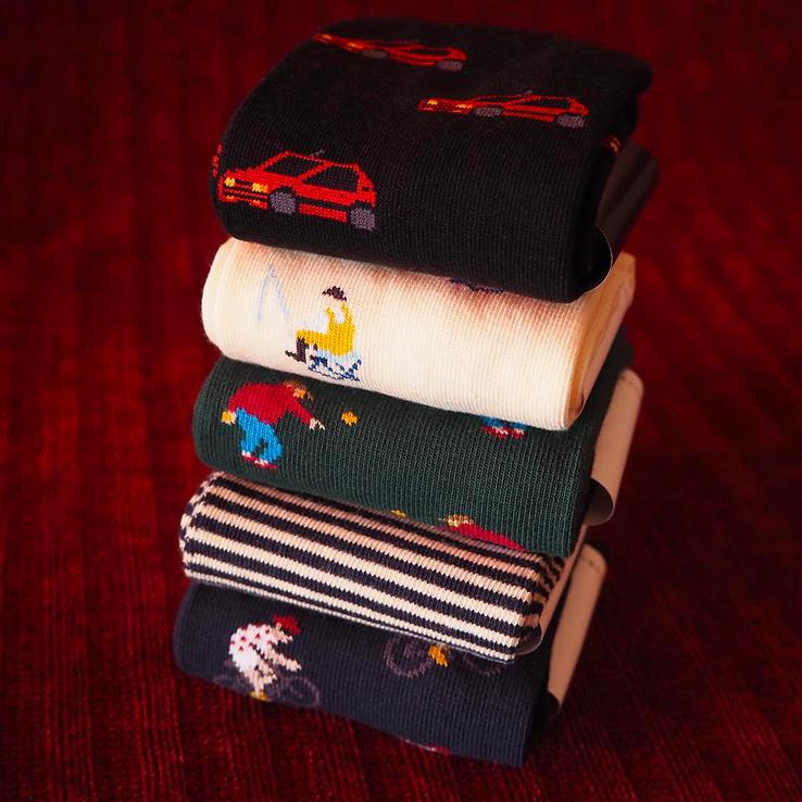 Chaussettes à motifs Jermaine Toulouse.
