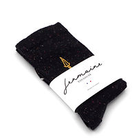 Chaussettes bleues. Jermaine Toulouse. Made in France.