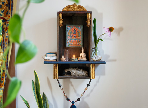 Yoga Studio Shrine