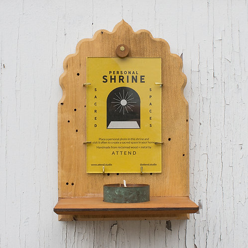 Maple Barnwood Shrine