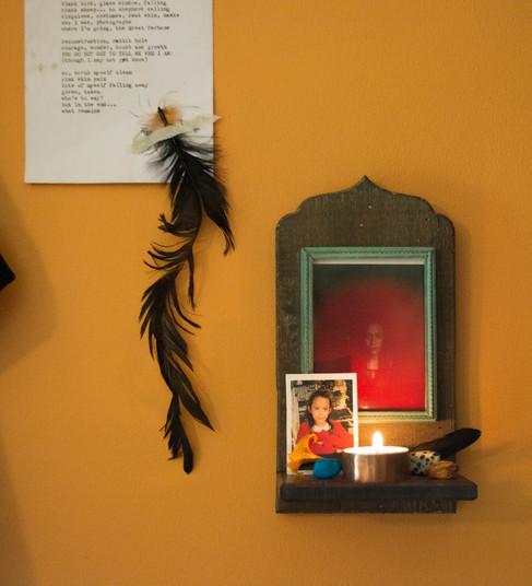 Personal home shrine