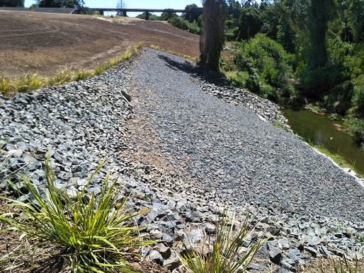 Kyogle Council Fawcetts Creek Embankment Stabilisation Works