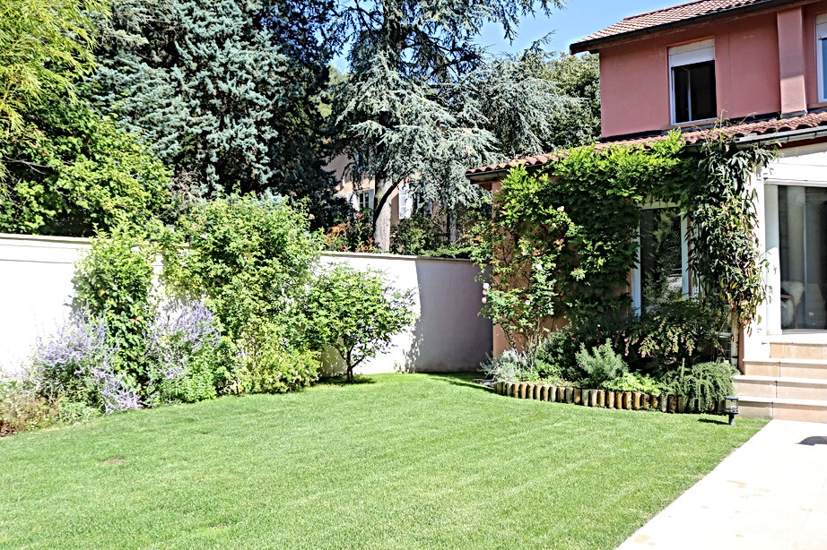 Jardin lyon architecte exterieur