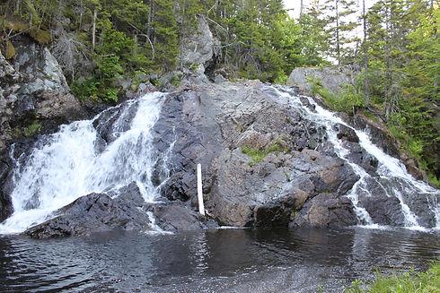 Chain Lake Stream Falls