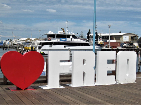 Fishing Boat Harbour Freo