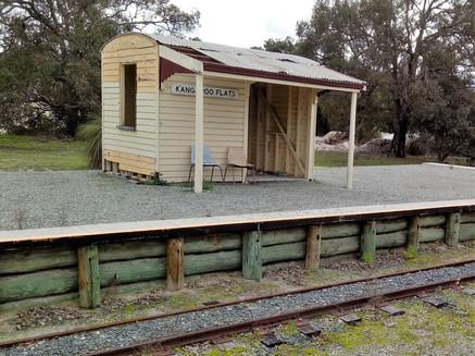 Kangaroo Flats Train Station
