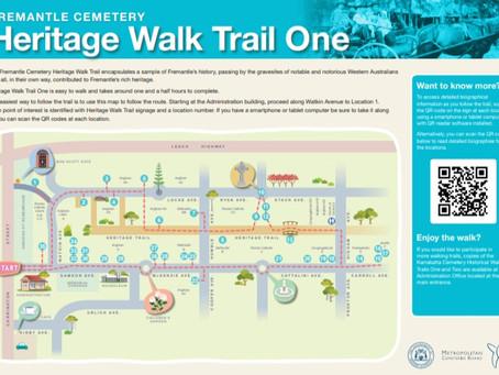 Fremantle Cemetery Heritage Walk Trail
