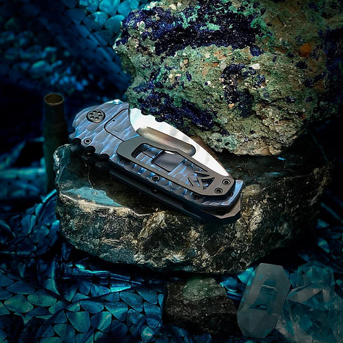 "Medford Knife and Tool Praetorian TI ""The Aquaman"", Frame Lock Folding Knife"