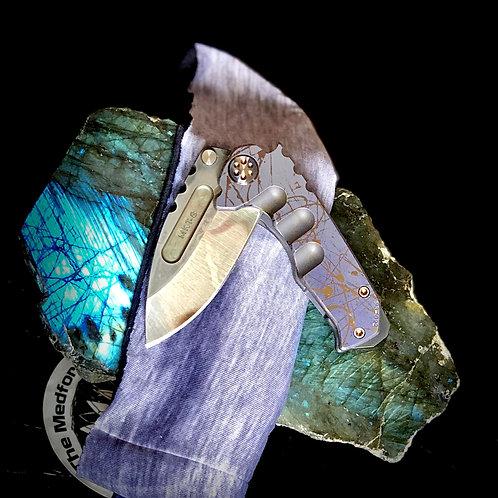 Medford Knife and Tool Micro Praetorian Ti