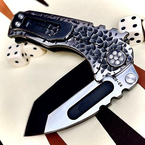 Medford Knife and Tool - Micro Praetorian Ti diamond pivot