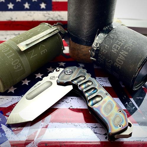 Medford Knife and Tool - Praetorian Ti
