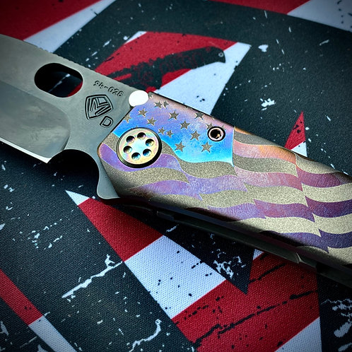 Medford Knife and Tool - OEJ's 187DP Contoured