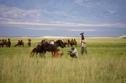 Filming Notice the Nomads in Mongolia