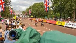 Filming Ride London British Cycling (ITV4)