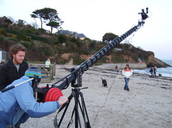 Filming The Wolf Within documentary in Cornwall