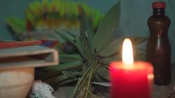 Yagé Ceremonial Table