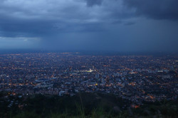 Filming a storm timelapse in Cali, Colombia
