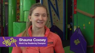 Clip n Climb with Shauna Coxey