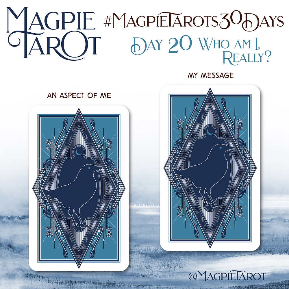Day 20 of Magpie Tarot's 30 Days