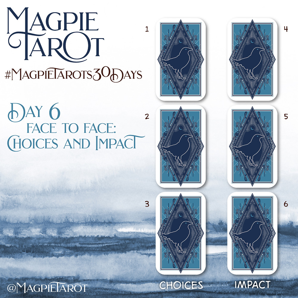 Day 6 of Magpie Tarot's 30 Days