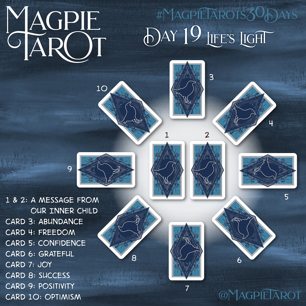 Day 19 of Magpie Tarot's 30 Days