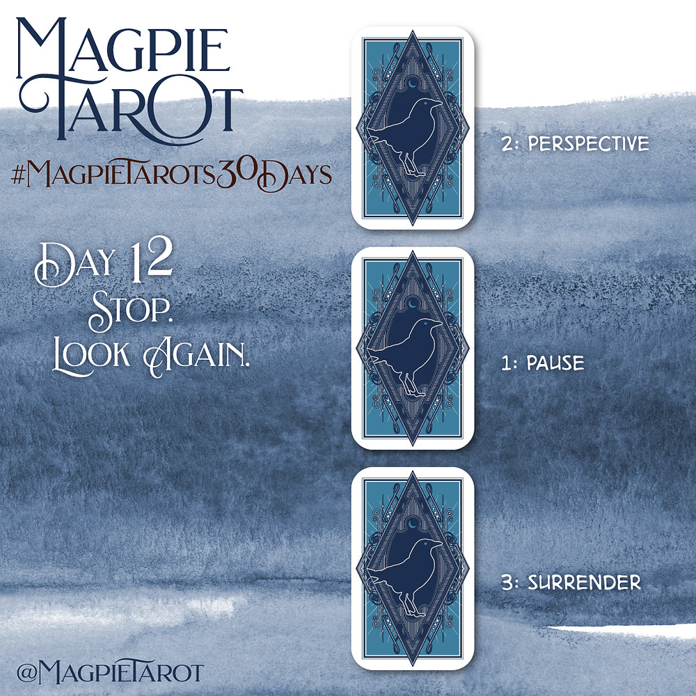 Day 12 of Magpie Tarot's 30 Days