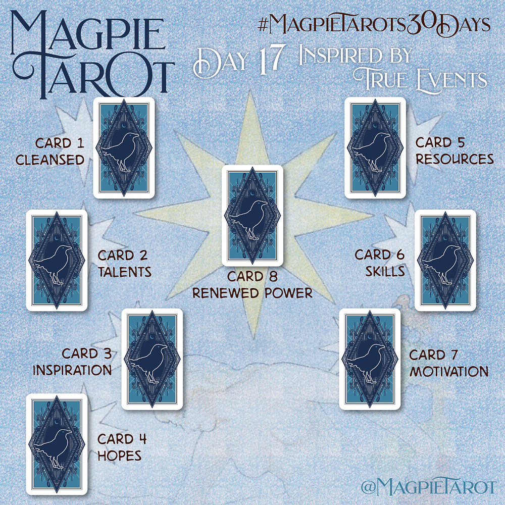 Day 17 of Magpie Tarot's 30 Days