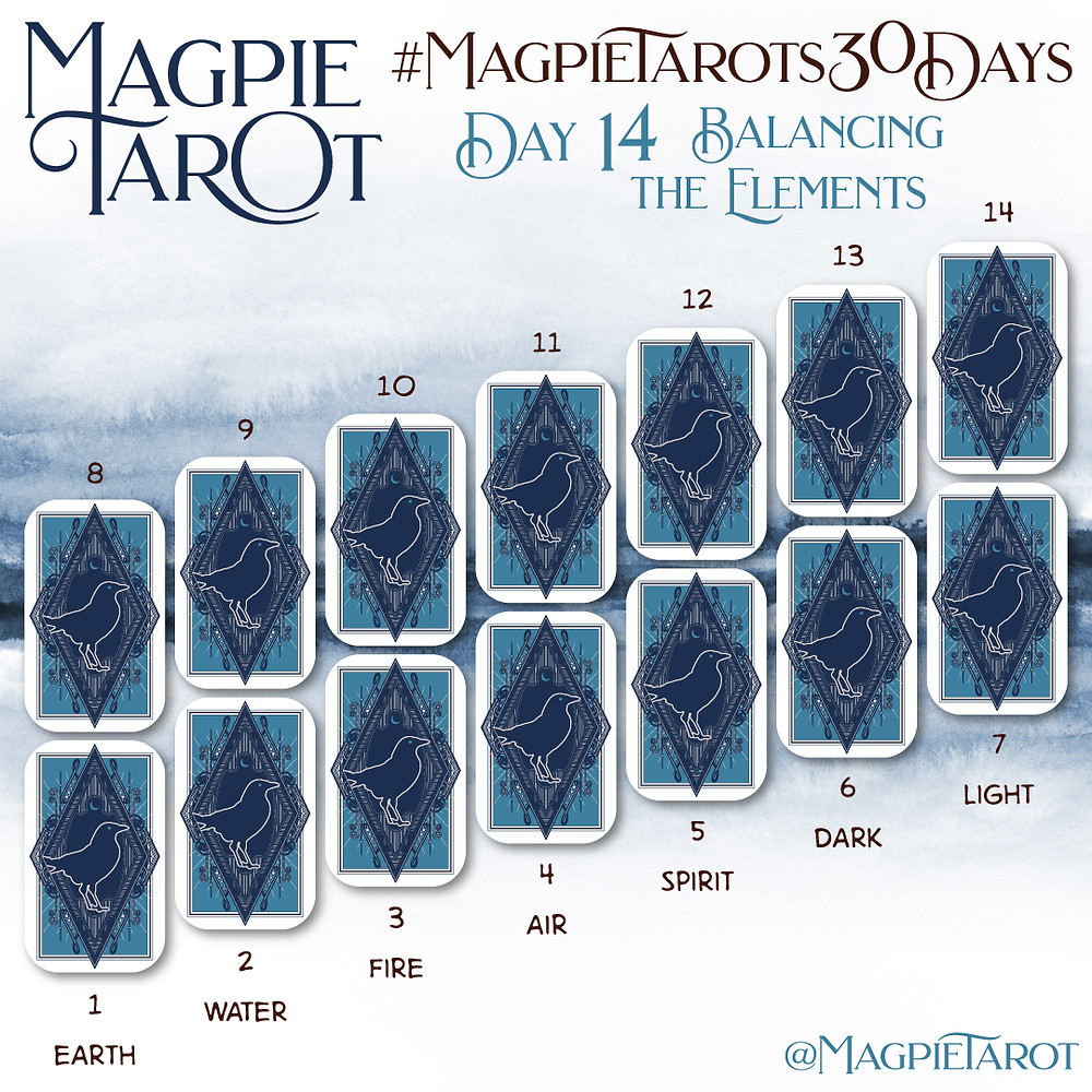 Day 14 of Magpie Tarot's 30 Days