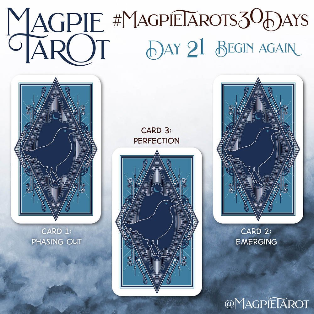 Day 21 of Magpie Tarot's 30 Days