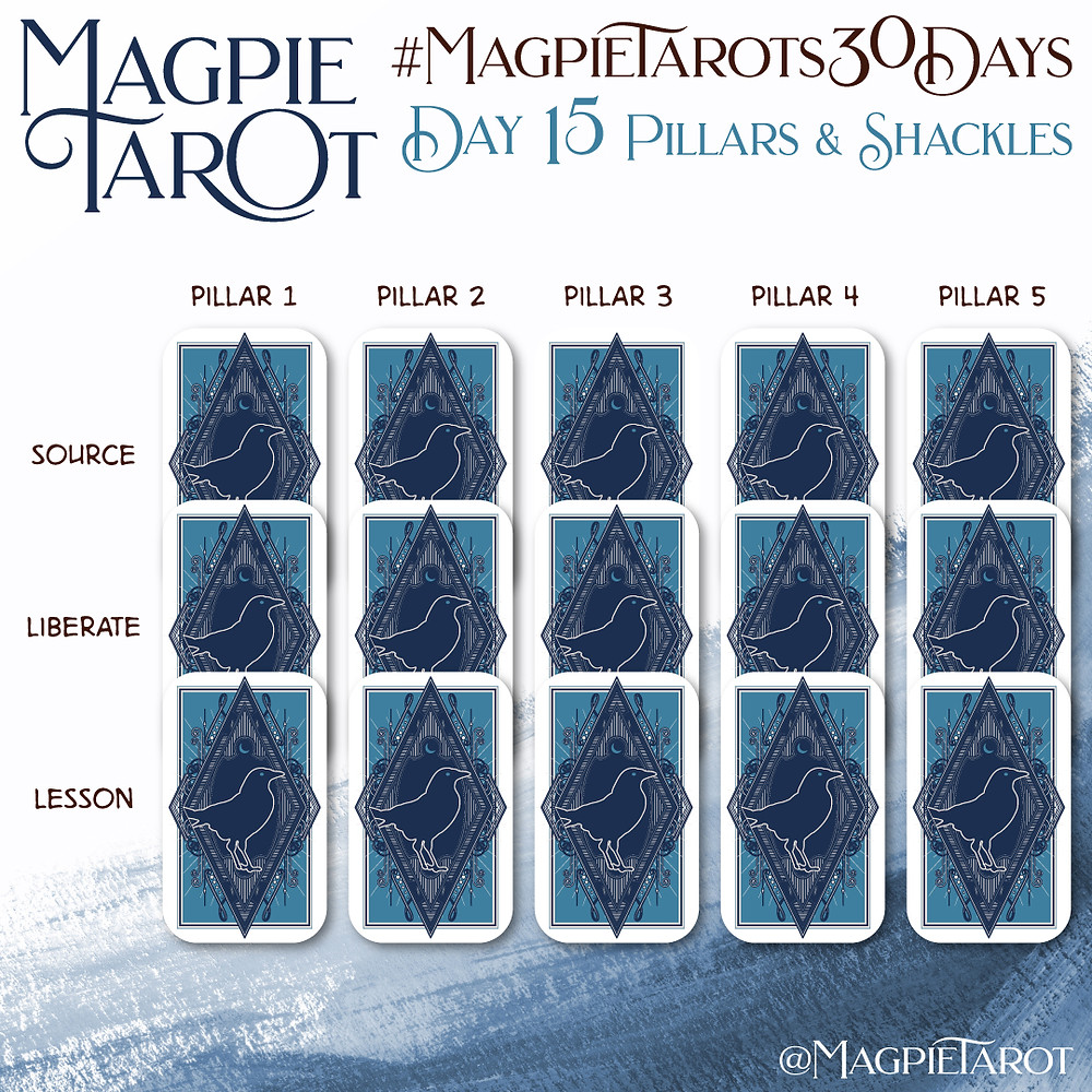 Day 15 of Magpie Tarot's 30 Days