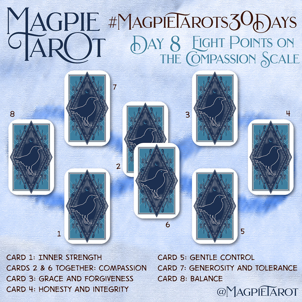 Day 8 of Magpie Tarot's 30 Days