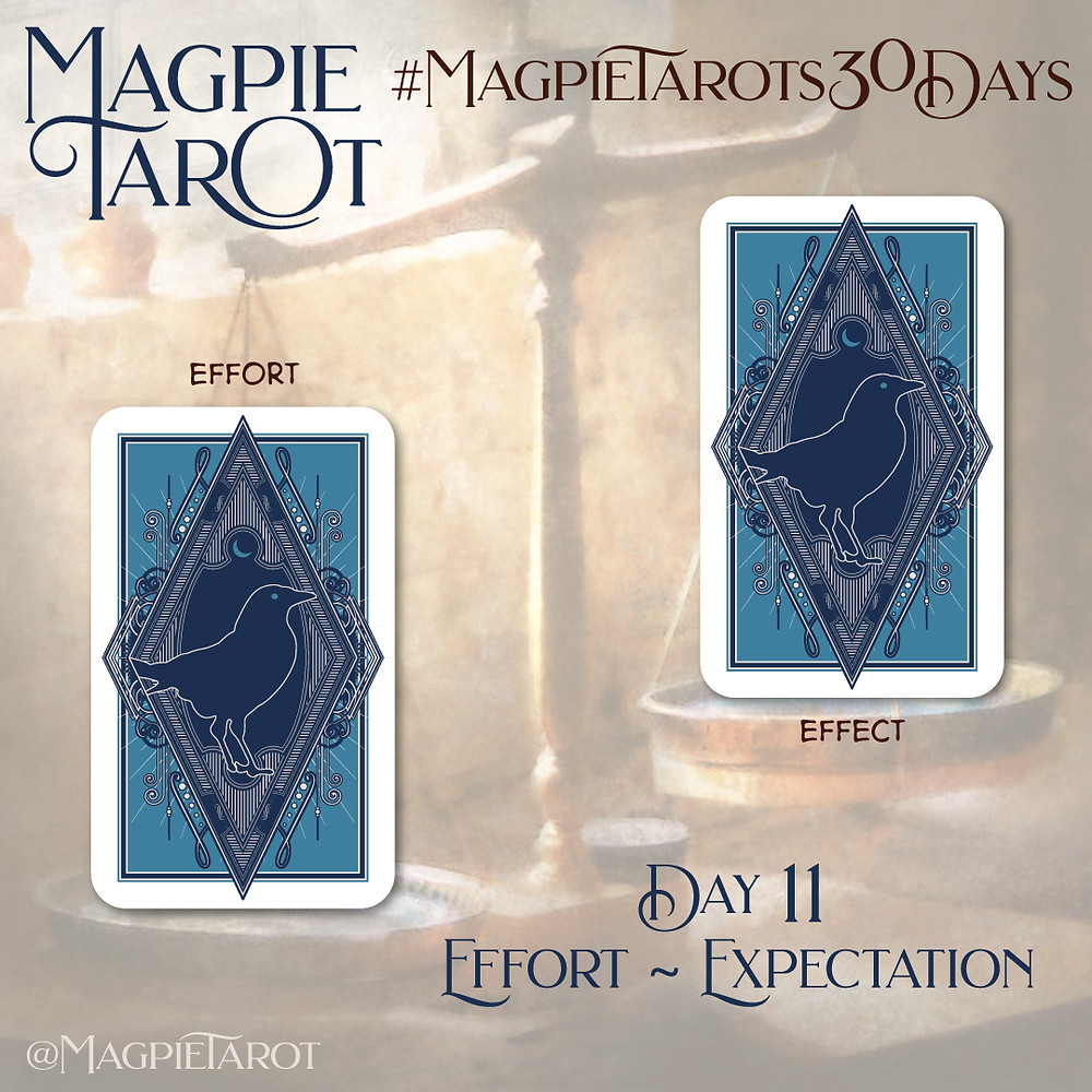 Day 11 of Magpie Tarot's 30 Days