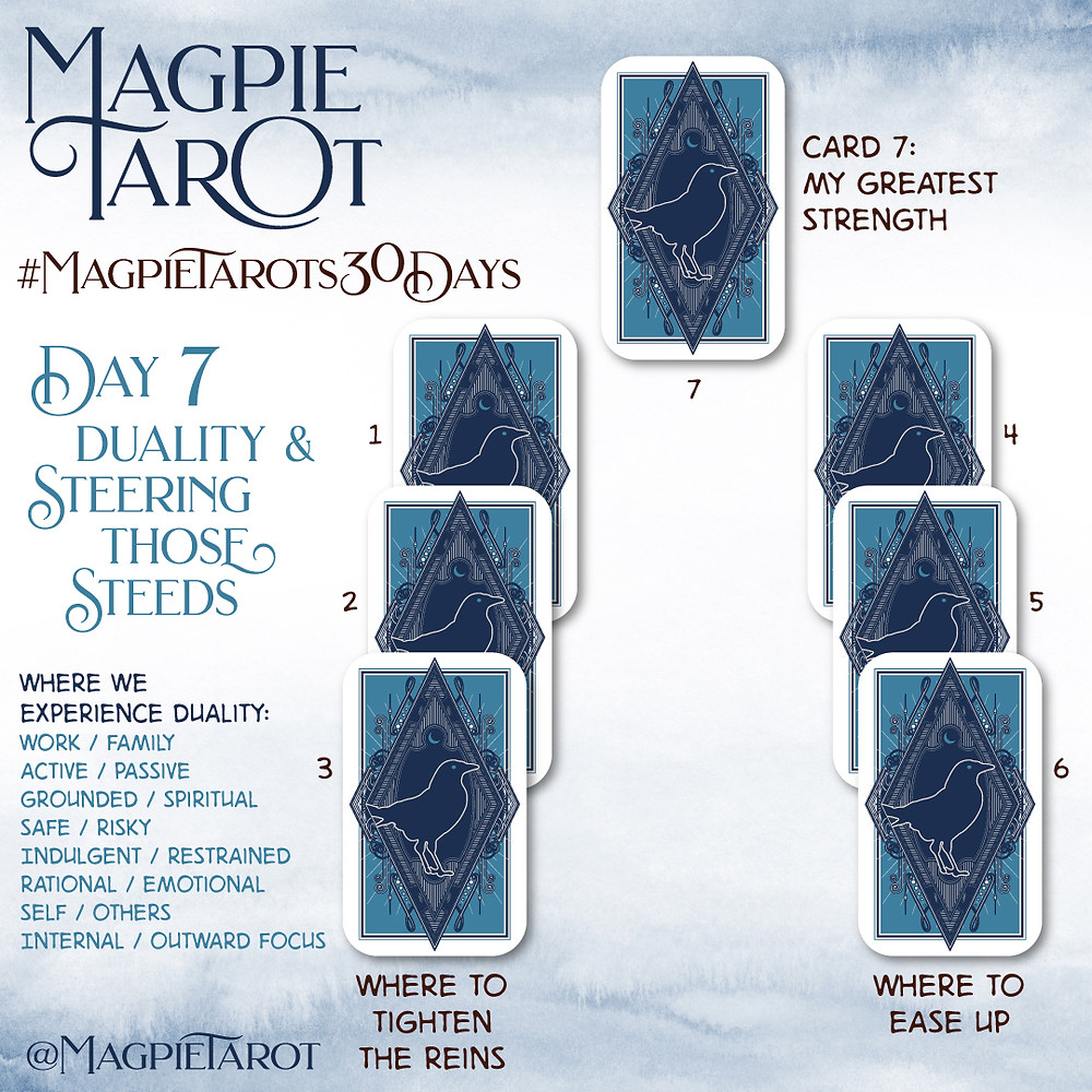 Day 7 of Magpie Tarot's 30 Days