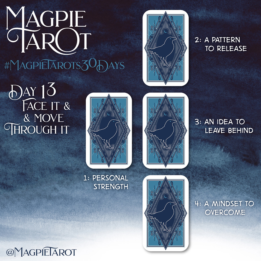 Day 13 of Magpie Tarot's 30 Days