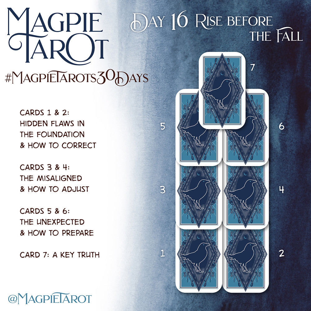 Day 16 of Magpie Tarot's 30 Days
