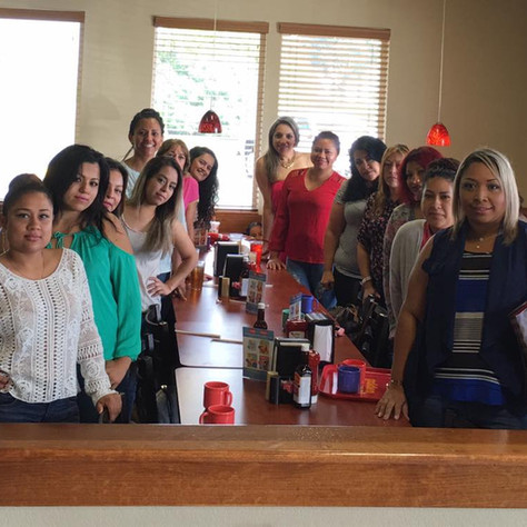 Rosa Rios Cleaning Luncheon