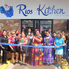 Ribbon Cutting for Rios Kitchen