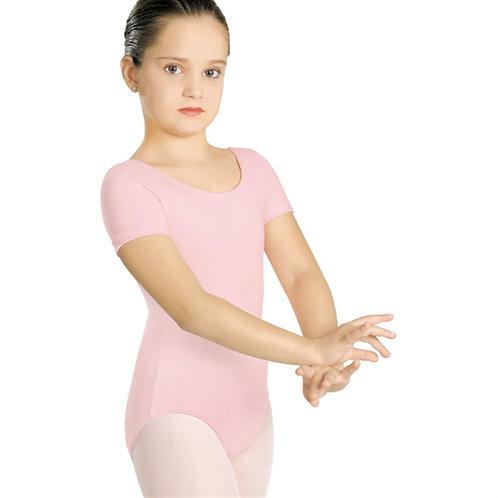Collant manga curta decote redondo - Infantil A