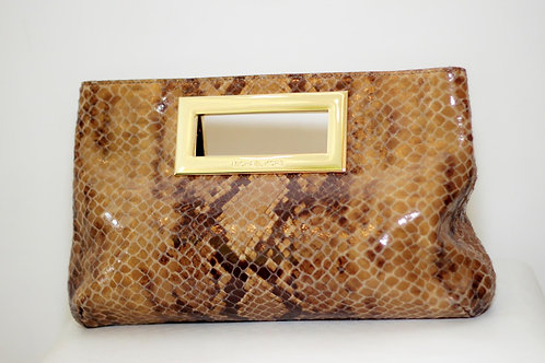 Bolsa-Carteira MK Berkley Clutch Embossed - tam. M