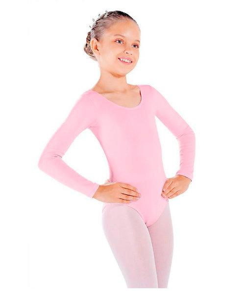 Collant manga longa com decote redondo - Infantil