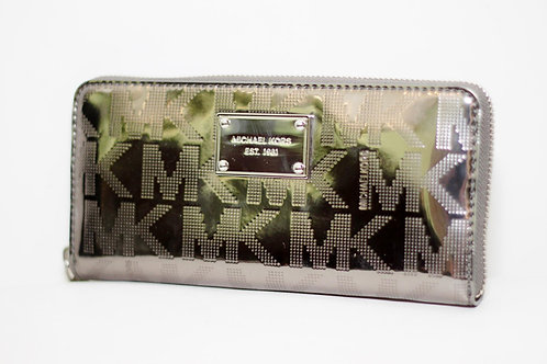 Carteira MK com zipper ZA Continental - tam. G