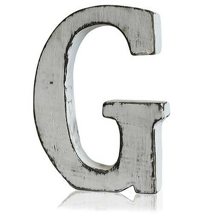 G Shabby Chic Letter