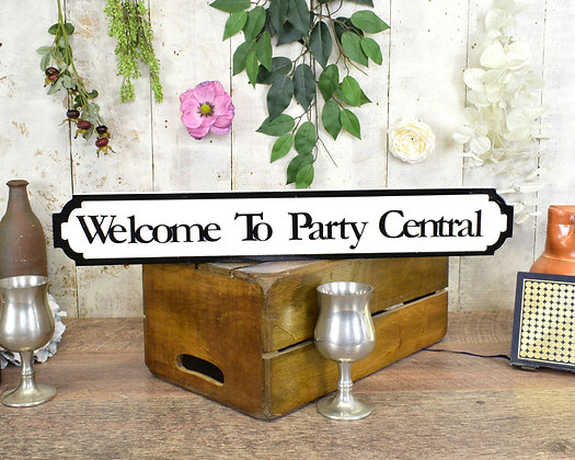 Welcome To Party Central