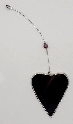 Maroon Hanging Heart